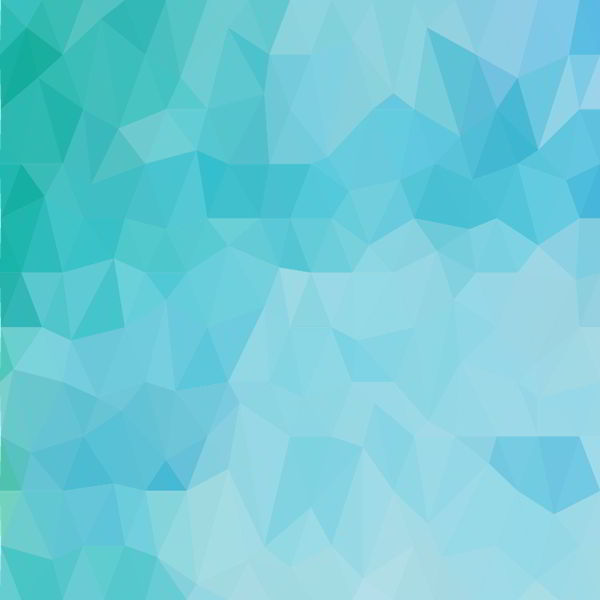 ocean blue polygon abstract background vector free - 0306201601