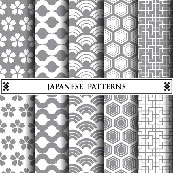 Free japanese vector pattern - 0306201602