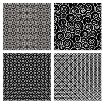4 seamless pattern illustration background vector free – 2206201603