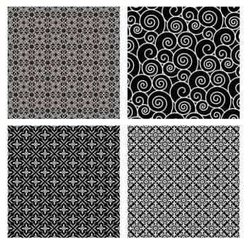 4 seamless pattern illustration background vector free – 2206201603