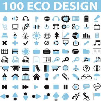 Eco design Icons