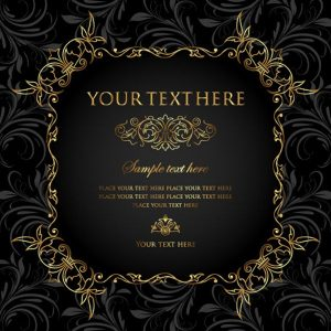 Invitation vintage card - 2607201604