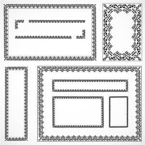 Vector Matching Certificate Frame Set - 2807201606