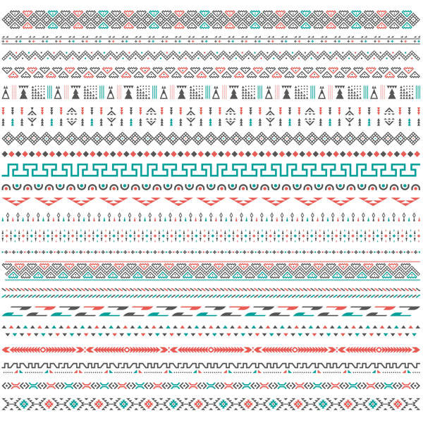 Tribal Border Pattern Stock Vector - 1508201602